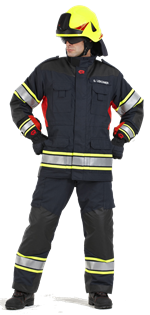 Clothes make the firefighter!